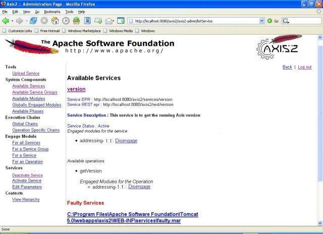 Apache Axis2 – Apache Axis2 Web Administrator's Guide